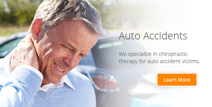 Chiropractic therapy for auto accident injuries, Phoenix AZ